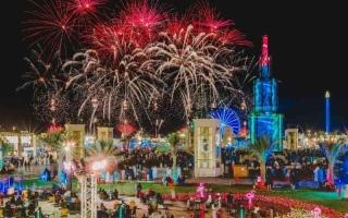 الصورة: الصورة: مهرجان الشيخ زايد يستقبل 2021 بتحطيم رقمين عالميين