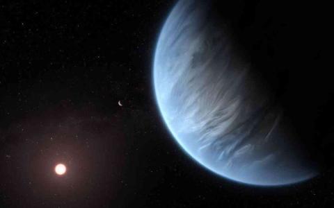 الصورة: الصورة: رسالة غامضة من أقرب نجم إلى الأرض