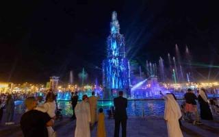 الصورة: الصورة: لوحات التراث العالمي تتناغم  في مهرجان الشيخ زايد