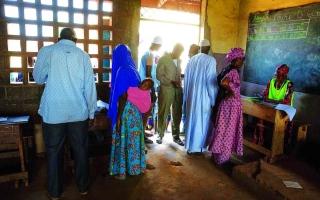 الصورة: الصورة: انتخابات على وقع السلاح في أفريقيا الوسطى