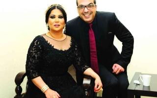 الصورة: الصورة: بالفيديو.. نوال الكويتية ومشعل العروج يتلقيان لقاح كورونا