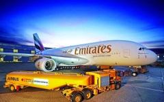 الصورة: الصورة: «طيران الإمارات» تتسلم أول طائرة A380 مزودة بالدرجة السياحية الممتازة