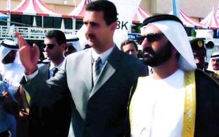 الصورة: الصورة: «بشار.. سوريا» درس في الإدارة الحكومية