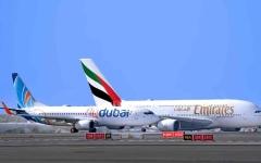 الصورة: الصورة: «طيران الإمارات» و«فلاي دبي» تعيدان تشغيل رحلاتهما من السعودية