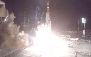 """الصورة: الصورة: شاهد.. روسيا تنجح في إطلاق صاروخها الجديد """"أنغارا"""""""