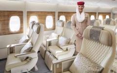 """الصورة: الصورة: طيران الإمارات تكشف النقاب عن منتج """"السياحية الممتازة"""" وتحسينات لكل الدرجات"""