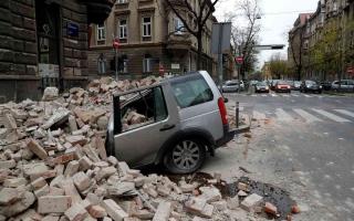 الصورة: الصورة: زلزال بقوة 6,2 درجات يضرب كرواتيا