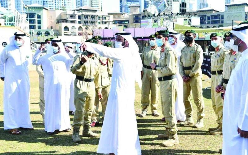 الصورة: الصورة: تقنيات حديثة  لتأمين احتفالات  رأس السنة في دبي
