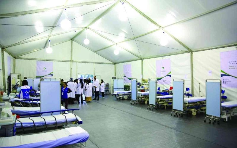 الصورة: الصورة: 3 مستشفيات ميدانية بدبي لتأمين الرعاية الطبية للمشاركين بفعاليات «رأس السنة»