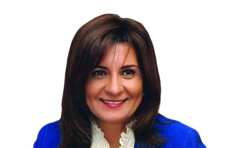 الصورة: الصورة: وزيرة مصرية تشكر الإمارات على دعم المصريين العالقين على أراضيها
