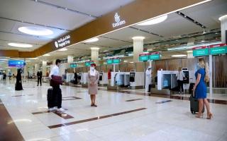 الصورة: الصورة: طيران الإمارات تشهد طفرة في حركة السفر مطلع 2021