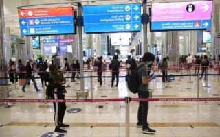 الصورة: الصورة: مطار دبي يتعامل مع 545 ألف مسافر في الأسبوع الأول من 2021