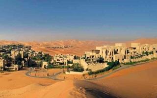 الصورة: الصورة: «قصر السراب».. الرفاهية في قلب الصحراء