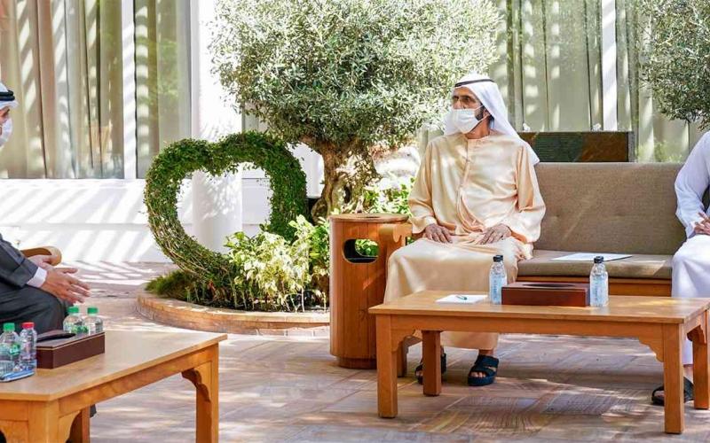 الصورة: الصورة: محمد بن راشد: الإمارات تدعم جهود تحقيق الأهداف الوطنية لدول التعاون