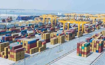 الصورة: الصورة: قوة الاتحاد تضاعُف التجارة الخارجية  1600 مرة في نصف قرن