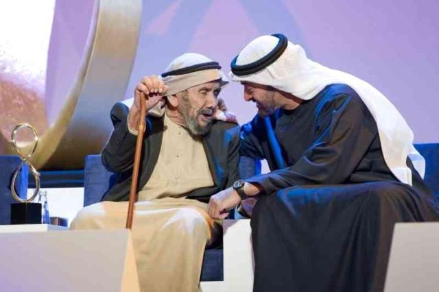محمد بن زايد: عقيدة المهيري سخر خبرته في خدمة مجتمعه ووطنه على مدى عقود من العطاء