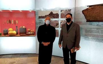 الصورة: الصورة: معرض «آثار الشارقة» يختتم أعماله في لشبونة