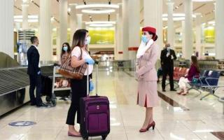 الصورة: الصورة: 589 ألف مقعد مجدول عبر مطارات الإمارات في أسبوع