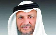 الصورة: الصورة: قرقاش: الإمارات ترغب في التأسيس لمرحلة جديدة خالية من الأزمات