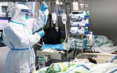 الصورة: الصورة: حصيلة وفيات يوميّة قياسيّة بكورونا في الولايات المتّحدة
