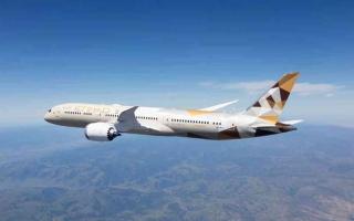 """الصورة: الصورة: """"الاتحاد للطيران"""" تتطلع لإعادة تيسيير الرحلات إلى قطر"""