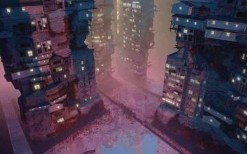 الصورة: الصورة: «الكوكب»  مدينة مكتفية  ذاتياً تضم 10 مليارات نسمة