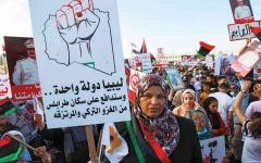 الصورة: الصورة: «الوفاق» تحضّر لحرب وشيكة ضد  الميليشيات تمهيداً للحل السياسي