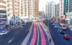 الصورة: الصورة: 11.6 كيلو متراً مسارات الحافلات ومركبات الأجرة في دبي