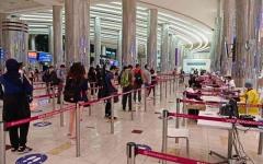 الصورة: الصورة: 18 مليون مسافر عبر منافذ دبي الجوية 2020