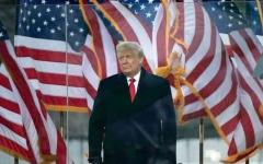 الصورة: الصورة: ترامب أمام إجراءات عزله للمرة الثانية في حدث غير مسبوق