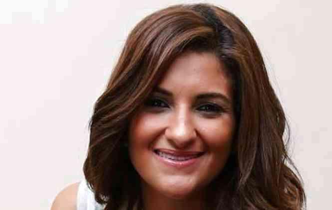 الصورة : مي رستم - صحافية مصرية
