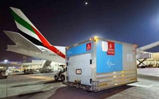الصورة: الصورة: 10 إنجازات تعزز ريادة «الإمارات للشحن الجوي» عالمياً