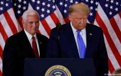 الصورة: الصورة: بعد لقائه بنس.. ترامب يوافق على إعلان الطوارئ في واشنطن حتى 24 يناير