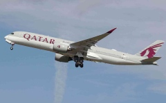 """الصورة: الصورة: مصر تفتح الأجواء لـ """"القطرية"""" وتعلن استئناف رحلات الطيران بين البلدين"""
