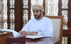 الصورة: الصورة: ذي يزن بن هيثم ولياً للعهد في سلطنة عمان