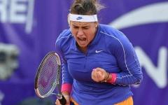 الصورة: الصورة: غدا.. نهائي بطولة أبوظبي المفتوحة لتنس المحترفات بين سابالينكا وميتوفا