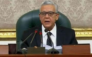 الصورة: الصورة: حنفي جبالي رئيساً لمجلس النواب الجديد في مصر