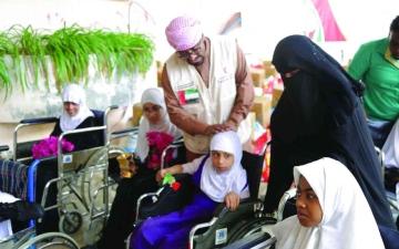 الصورة: الصورة: دعم إماراتي للارتقاء بقطاع التعليم في اليمن