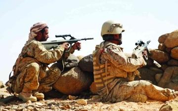 الصورة: الصورة: الجيش اليمني يستعيد مناطق استراتيجية في مأرب