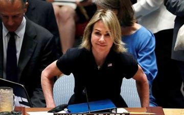 الصورة: الصورة: بعد توعّد الصين.. سفيرة أمريكا في الأمم المتحدة تلغي زيارتها إلى تايوان