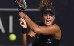 الصورة: الصورة: إنجاز تاريخي جديد للاعبة التنس المصرية ميار شريف