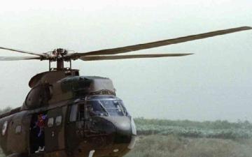 الصورة: الصورة: تحطم طائرة عسكرية سودانية في ولاية القضارف المتاخمة للحدود مع إثيوبيا