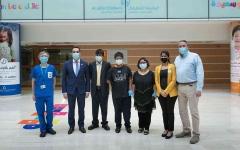 الصورة: الصورة: دبي تنقذ حياة بريتفيك بأول زراعة كلى بالدولة من متبرع حي
