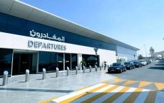 الصورة: الصورة: مطار أبوظبي يلزم المسافرين إلى المملكة المتحدة باختبار سلبي لكورونا
