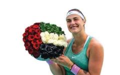 الصورة: الصورة: البيلاروسية سابالينكا بطلة «أبوظبي لتنس المحترفات»