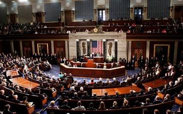 """الصورة: الصورة: """"النواب الأمريكي"""" يبدأ التصويت على توجيه اتهام لترامب بهدف عزله"""