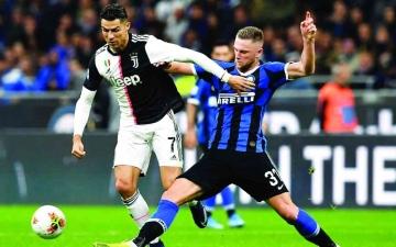 الصورة: الصورة: مواجهة إنتر ميلان ويوفنتوس تسرق الأضواء في الدوري الإيطالي
