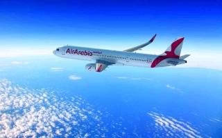 """الصورة: الصورة: """"العربية للطيران"""" تستأنف رحلاتها اليومية بين الشارقة والدوحة"""