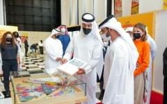 الصورة: الصورة: منصور بن محمد: دبي رسخت مكانتها على خارطة المعارض العالمية