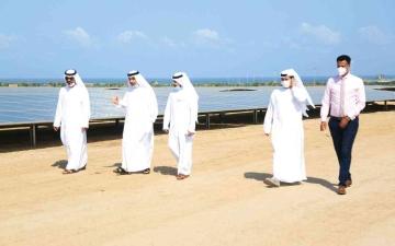 الصورة: الصورة: «أبوظبي للتنمية» يدشن محطة للطاقة الشمسية بأرض الصومال